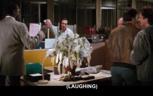 Líf Rogers Murtaugh í hnotskurn – hann er emaskúlerað athlægi jafningja sinna.