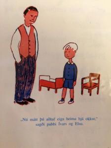 Nú máttu reyna að troða þér í þetta dúkkurúm, hahahaha!