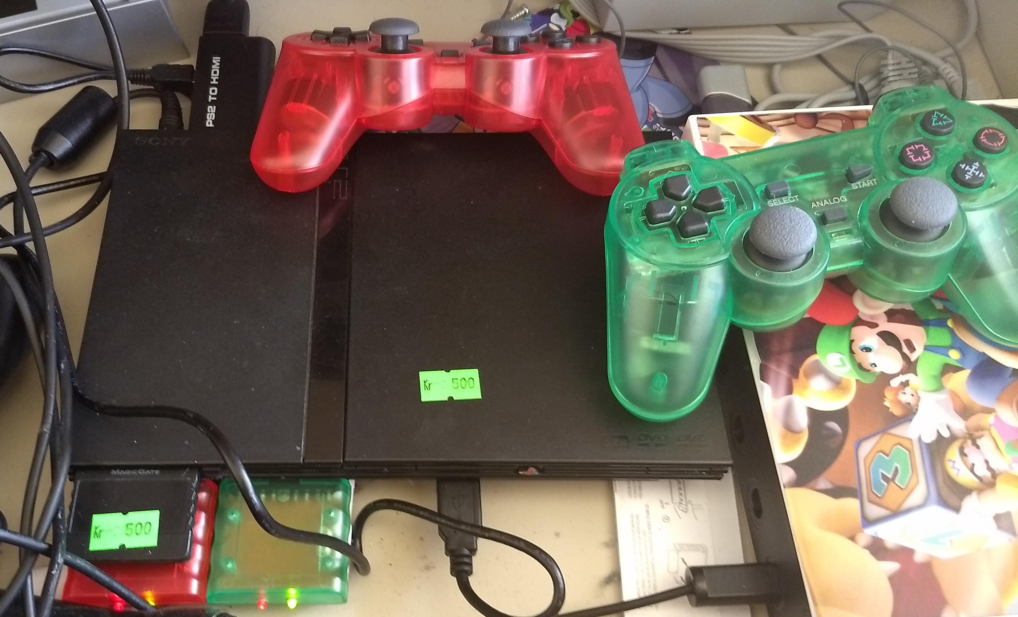 Playstation 2 úr Góða hirðinum